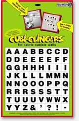 alphabet cubicle toy